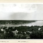 View from Hill, Port Jefferson, Long Island