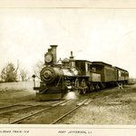 Railroad Train, Port Jefferson, Long Island