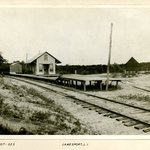 Railroad Station, Jamesport, Long Island