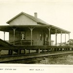 Railway Station, West Islip, Long Island