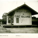 Railway Station, Babylon, Long Island