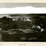 From Hill in rear, Essex, Connecticut