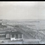 Coney Island Beach and Boardwalk (East from Half Moon Hotel)