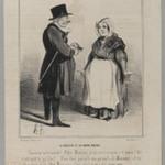 Le Médecin et la Garde Malade