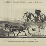 A la Campagne, Pas de Grèves de Cochers, - La Carriole Marche Toujours