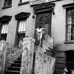 Spanish Harlem (Young Girl on Stairs Holding Her Skirt Up)