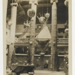 [Untitled] (Exhibition Hall with a Bear Skin and Native American Artifacts)