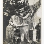 [Untitled] (Two Chiefs, One with Bow and Arrow)
