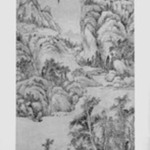 Mountain Landscape in the Style of Wu Zhen