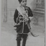 Portrait of Malijak Aziz al-Sultan or Ahmad Shah as a Young Boy, One of 274 Vintage Photographs