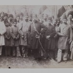 Mozaffar al-Din Shah and his Entourage, One of 274 Vintage Photographs
