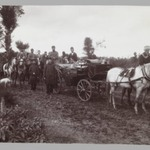 Mozaffer al-Din Shah in a Horse -driven Carriage,  One of 274 Vintage Photographs