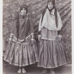 Two Women in Tribal Costume