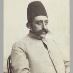 Studio Portrait of Mozaffar al-Din Shah in Informal Attire, One of 274 Vintage Photographs