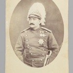 Studio Portrait of Zill al-Sultan, One of 274 Vintage Photographs