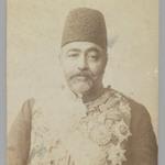 Portrait of Prime Minister Sadr azam Amin al-Soltan in Uniform,  One of 274 Vintage Photographs