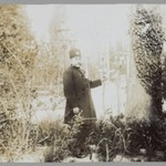 Mozaffar al-Din Shah in a Garden, One of 274 Vintage Photographs