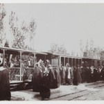Veiled Women Boarding a Train, One of 274 Vintage Photographs