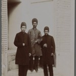 Mirza Gholam-Ali, Abbas Gholi Bek and Mirza Yahya,  One of 274 Vintage Photographs