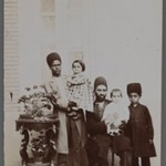 His Excellency the Mohteshem-al-Vexarehs Two Daughters and Servants One of 274 Vintage Photographs