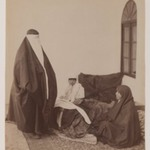 Two Veiled Women and a Child
