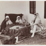 Two Ladies and a Child Reposing in the Harem
