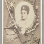 Official Royal Portrait of Prince Nosratollah, One of 274 Vintage Photographs