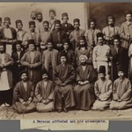 A Persian Official and his Attendants,  One of 274 Vintage Photographs