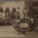 Persian Officials and  Attendants at a Party with Sweetmeats,  One of 274 Vintage Photographs