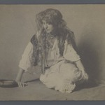 Studio Shot of European in Gypsy Costume, One of 274 Vintage Photographs