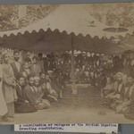 A Consultation of Refugees at the British Legation Demanding Constution I,  One of 274 Vintage Photographs