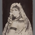 Painting of a Persian Harem Girl/Odalisque,  One of 274 Vintage Photographs