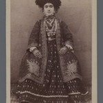 Female Member of a Tribal Khans Family,  One of 274 Vintage Photographs