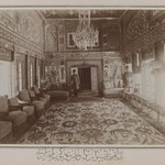 Persian Room in Mooven-el-Dowlehs Old Home,Tehran,  One of 274 Vintage Photographs