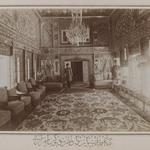 Persian Room in Mooven-el-Dowlehs Old Home,Tehran,  One of 274 Vintage Photographs