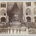 The Late Nasir al-Din Shah Lying in State in the Takiah Dawlat, One of 274 Vintage Photographs