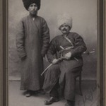 Two Khans in Turkoman Tribal Costume, One of 274 Vintage Photographs