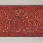 Upper Cover from an Unidentified Manuscript