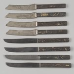 Fruit Knife, One of Set of Six