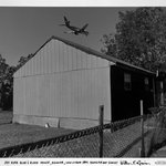 Jet Over Blue and Black House, Kenner, Louisiana, from the Homefront Series