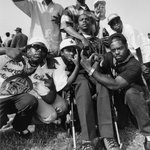 South Central L.A. (Compton Member Injured Gang Wars, Members of Crips Gang Hand Signals, Gang Markings), 1993