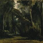 Landscape in the Forest at Compi&egrave;gne