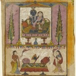 Lakshmi Naryana, Frontispiece from the &quot;Tula Ram&quot; Bhagavata Purana