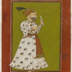 Portrait of Raja Ajmer Chand of Kahlur