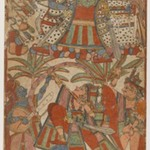 Page from a Ramayana Series