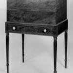 Box Desk on Sheraton Frame