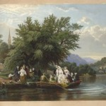 Lifes Day or Three Times Across the River: Noon (The Wedding Party)