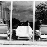 Catskill Mountain Resort (Foot on Chaise in Window)