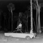 Cape Canaveral, Moon Launch (Couple Sitting on Car)