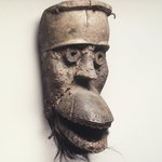 Mask with Hinged Jaw (Bu Gle)